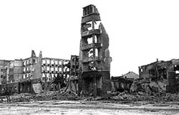 The aftermath of The Battle Of Stalingrad (July 17, 1942 - February 2, 1943)