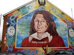 Famous Mural done in respect of Bobby Sands