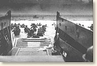 American soldiers disembark