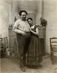 Diego Rivera and Frida Kahlo's Wedding Picture