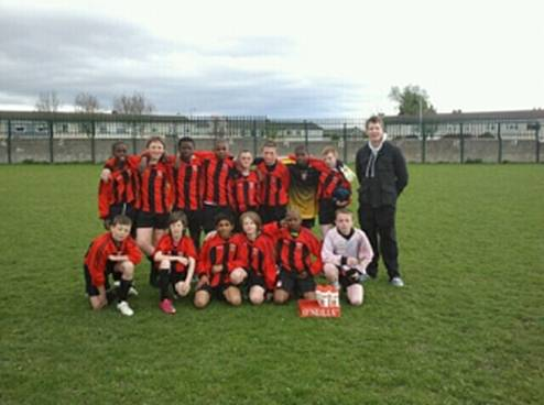 Team that defeated Patrician CC, Finglas to reach the final of the Metropolitan League