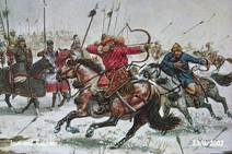 The Mongol army