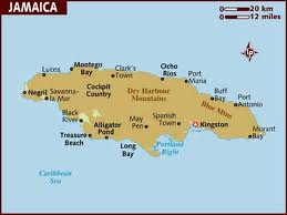The isle of Jamaica, where Marley was born.