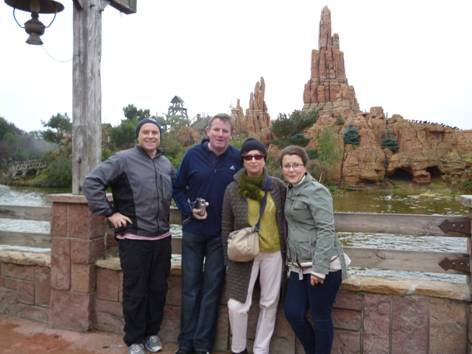 The teachers and Thunder Mountain.